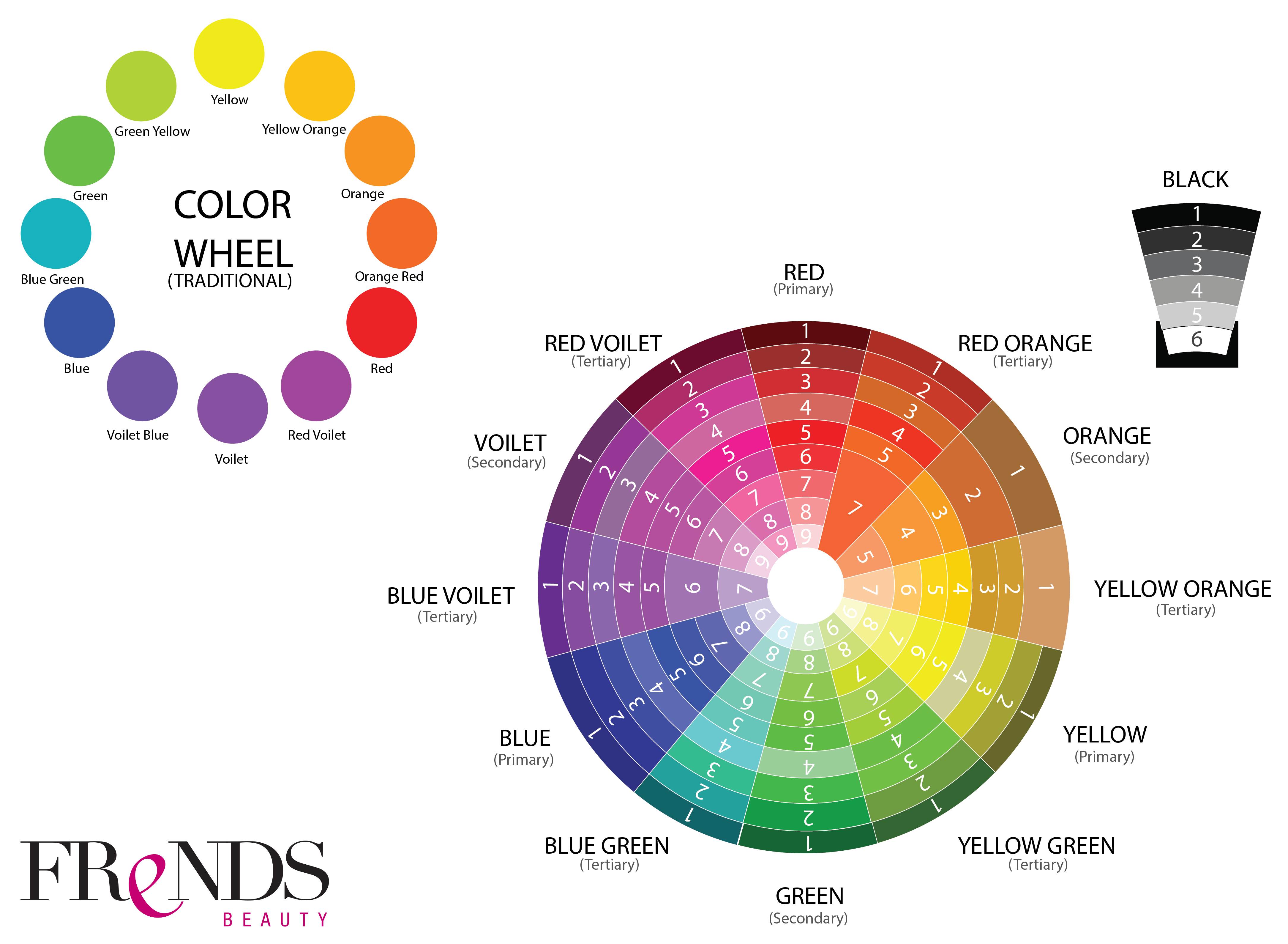 Makeup Color Wheel Theory Life Style By