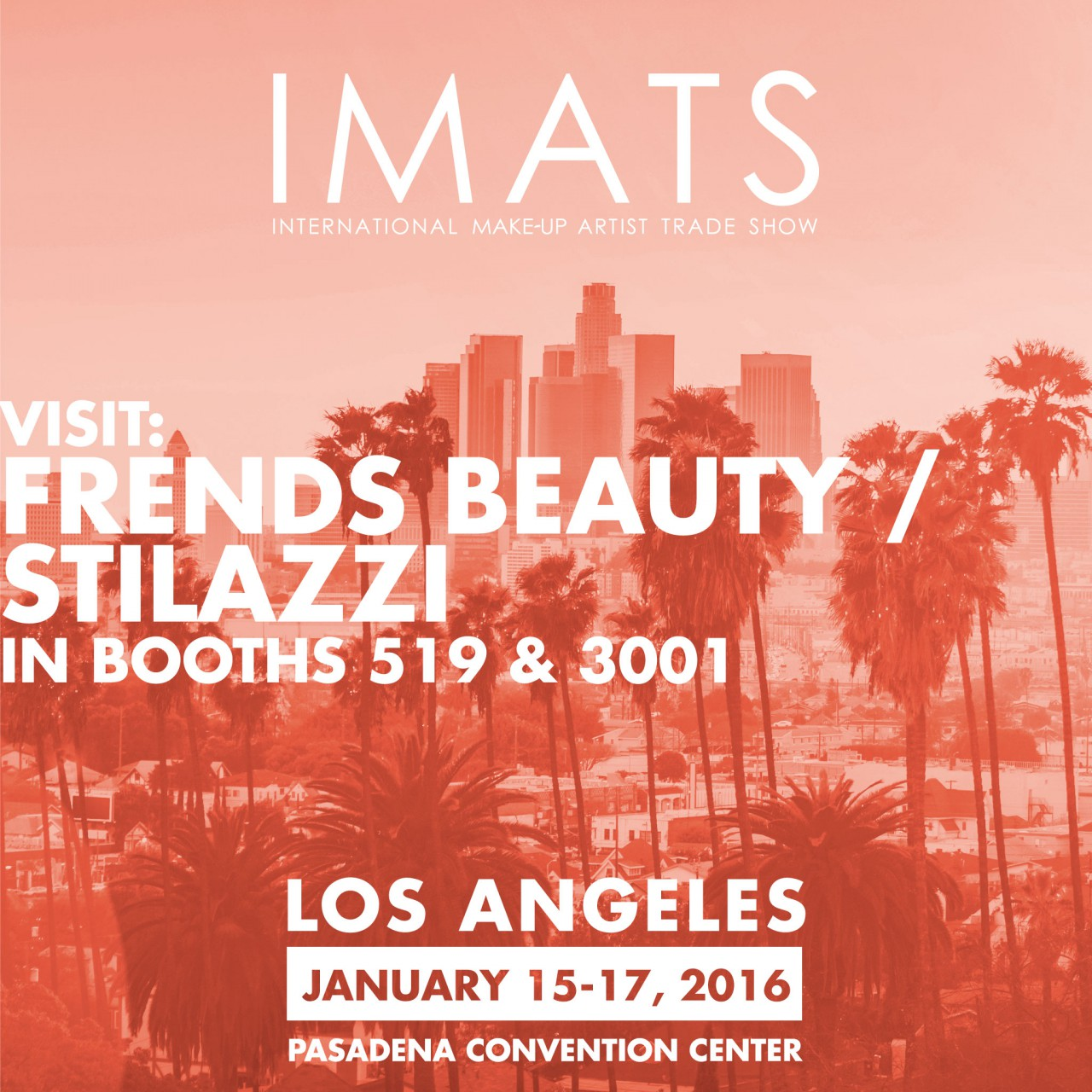 Frends Beauty at IMATS Los Angeles 2016