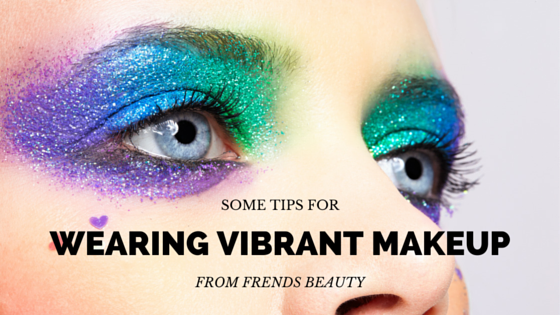 Wearing Makeup In Bright Colors