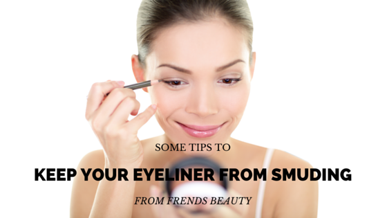 Keep Your Eyeliner from Smudging