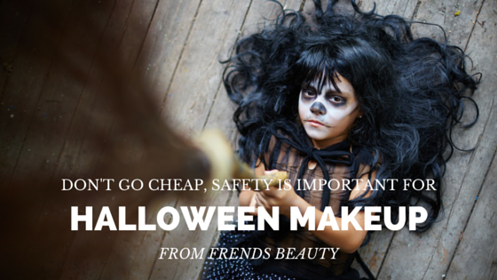 how safe is your halloween makeup