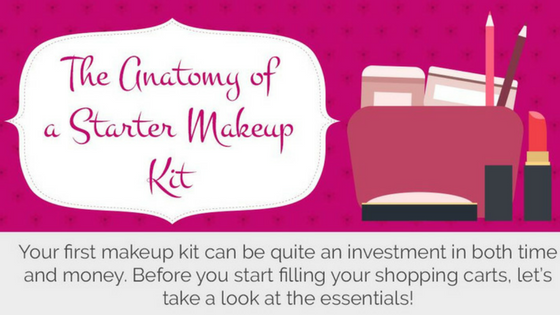 The Anatomy of a Starter Makeup Kit: Infographic
