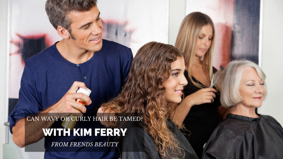 Can Wavy Or Curly Hair Be Tamed? With Guest Author Kim Ferry
