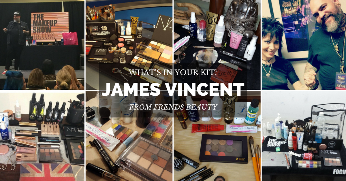 What's In Your Kit? James Vincent