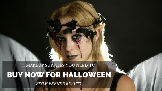 4 Makeup Supplies You Need to Buy Now for Halloween