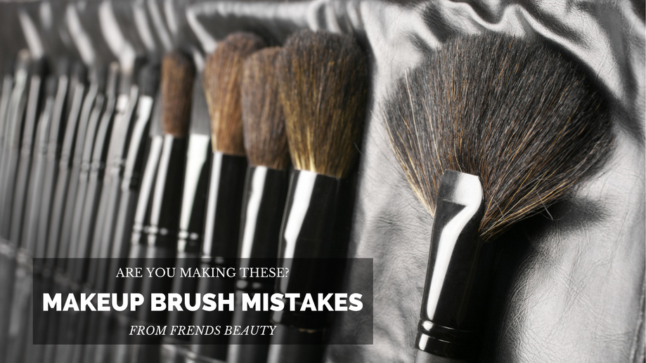 Makeup Brush Mistakes You're Probably Making