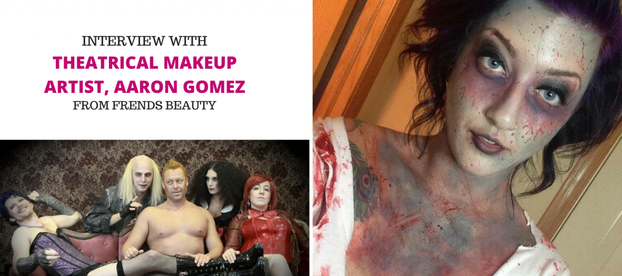 Interview with a Theatrical Makeup Artist, Aaron Gomez