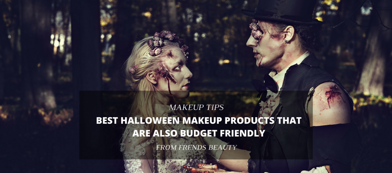 Best Halloween Makeup Products That Are Also Budget Friendly