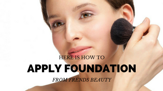How Should You Apply Your Foundation?