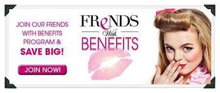 Frends With Benefits Discount Makeup Program