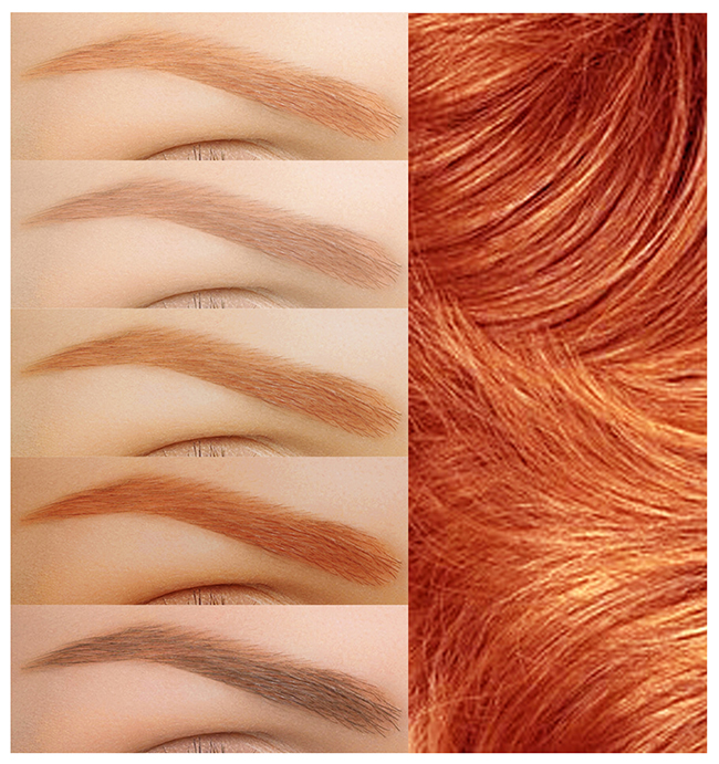 Choosing The Right Brow Color To Complement Your Hair Color Frends