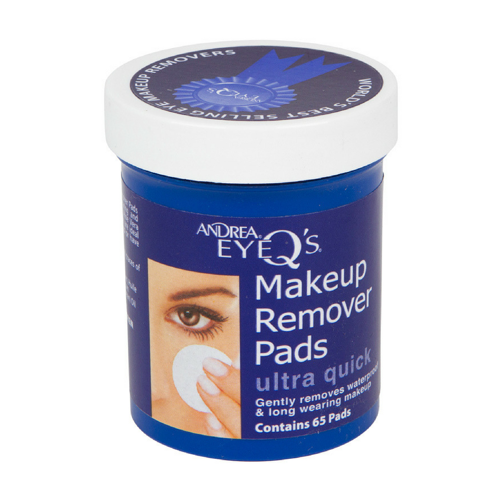 Andrea Eye Q's Ultra Quick Makeup Remover Pads