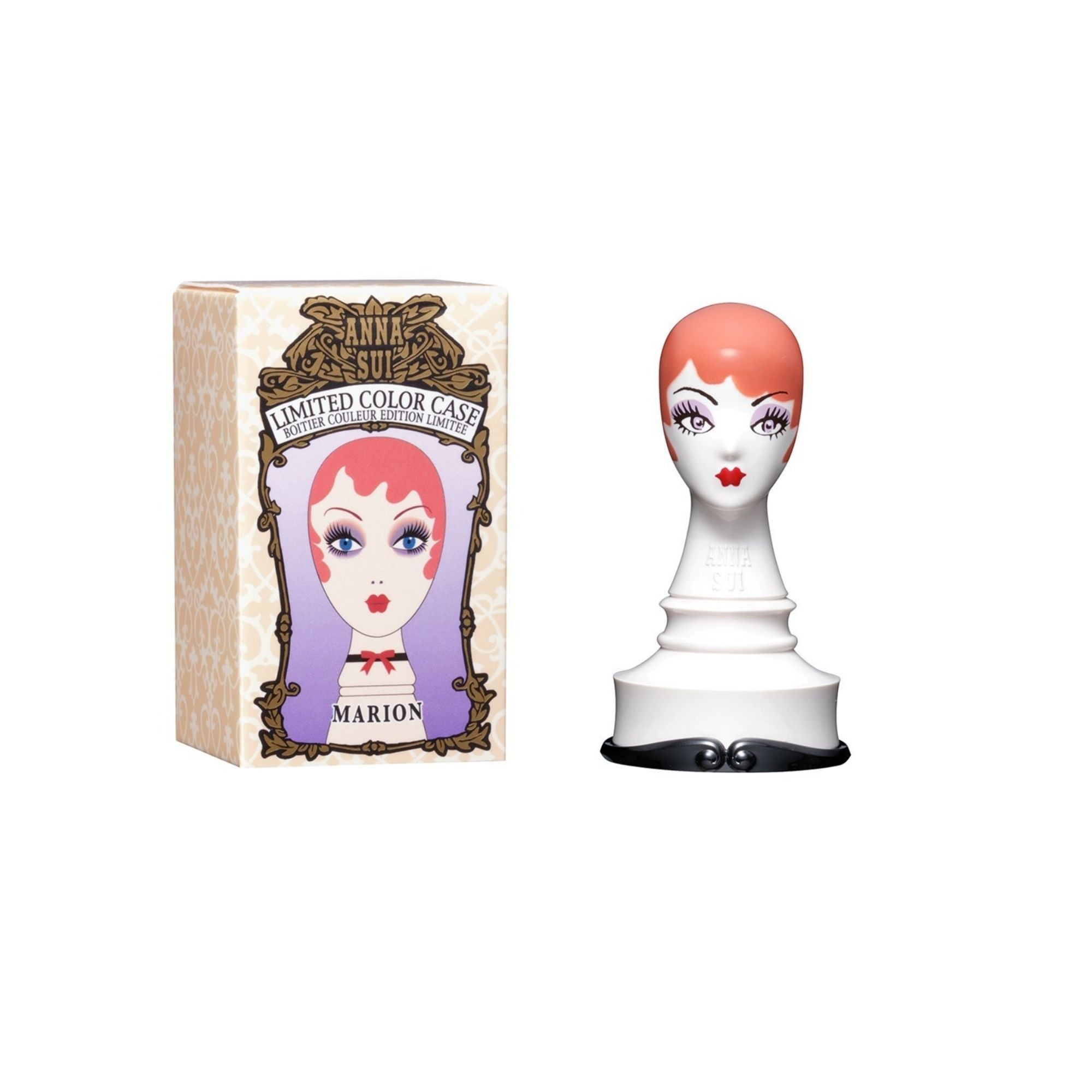 Anna Sui Limited Edition Dolly Head Color Case Marion Box