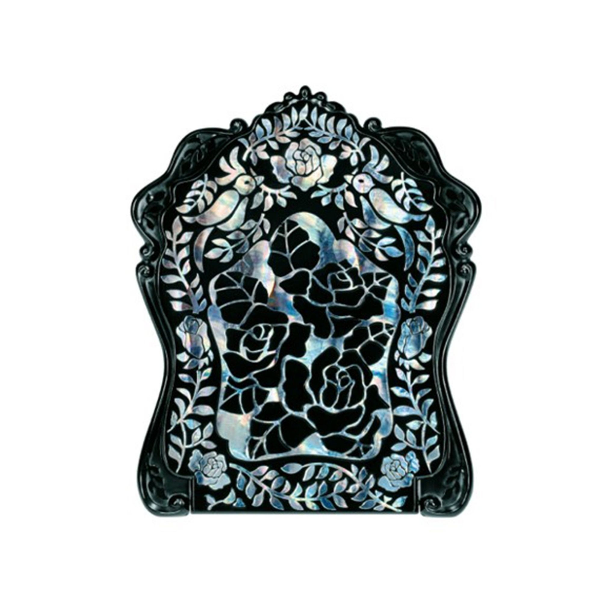Anna Sui Stained Glass Rose Beauty Mirror Closed