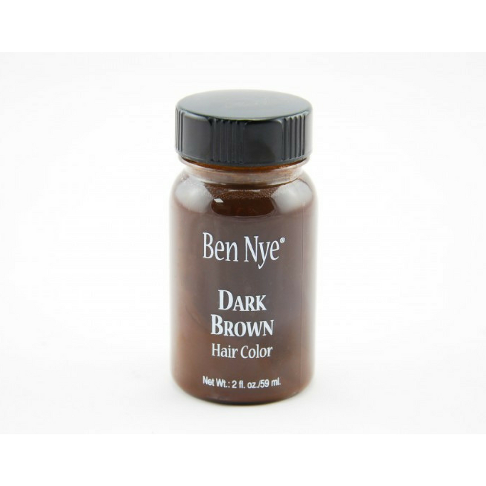 100065671Ben Nye Liquid Hair Color Dark Brown