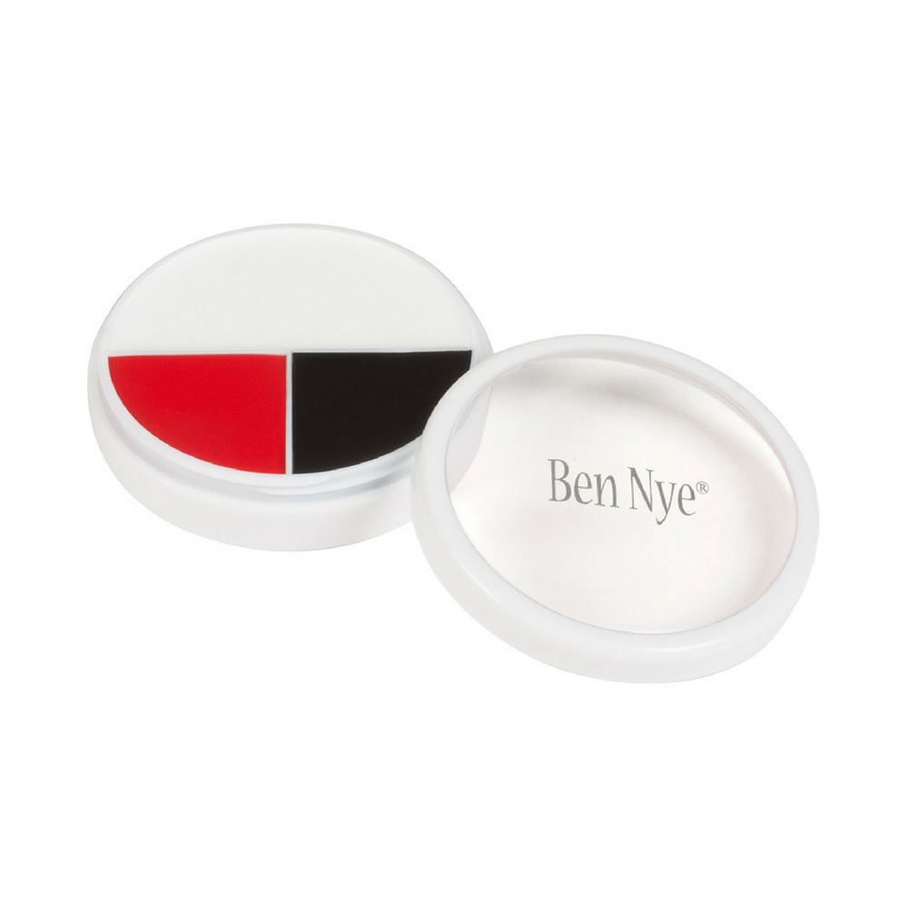 Ben Nye Professional Wheels RB Red Black & White