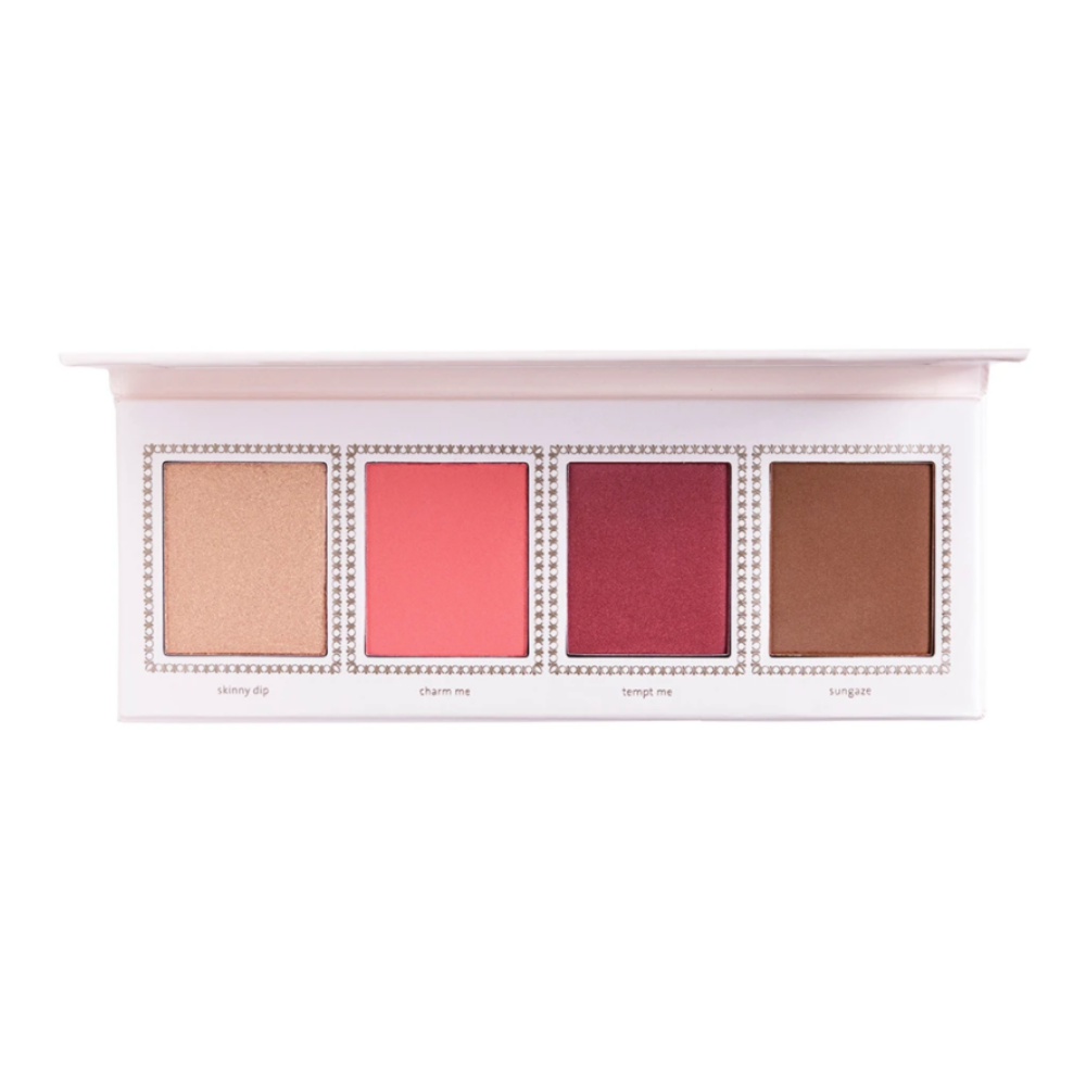 Jouer Champagne & Macaron Face Palette Cheeky Crush