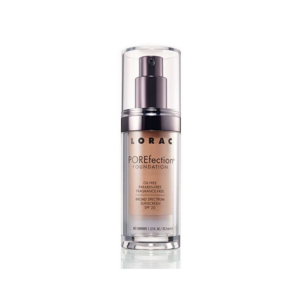 Lorac Sheer Porefection Foundation Golden Tan Frends Beauty Supply