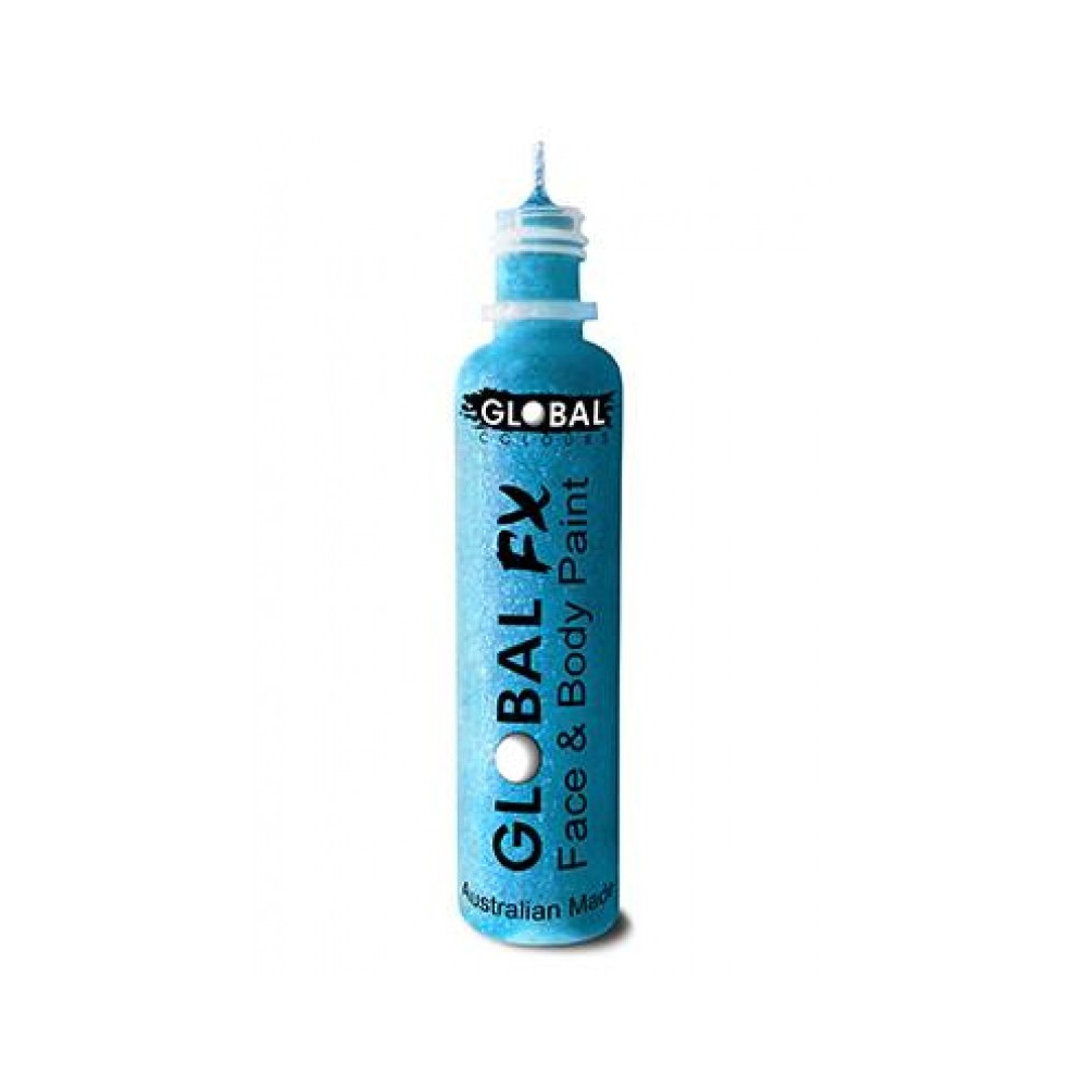 Glitter Gel Global FX Aqua Blue 1.2oz