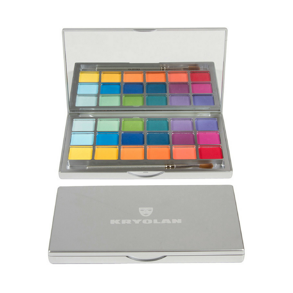 Kryolan Variety Eye Shadow Compact V2 Bright