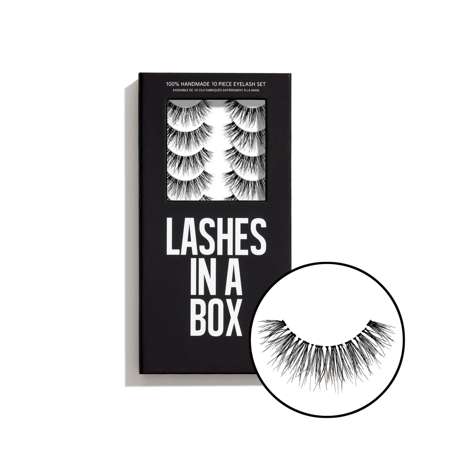 Lashes in a Box No 30 Ten Piece Eyelash Set
