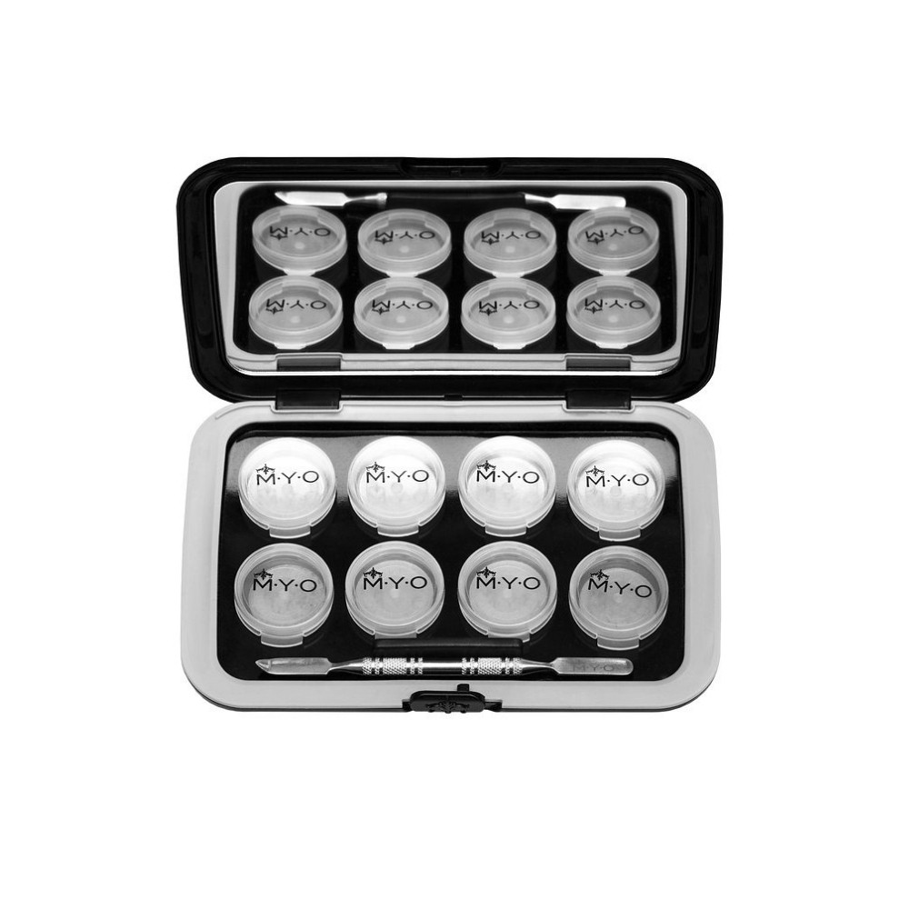 MYO Cosmetic Cases Magnetic Cosmetic Palette Silver