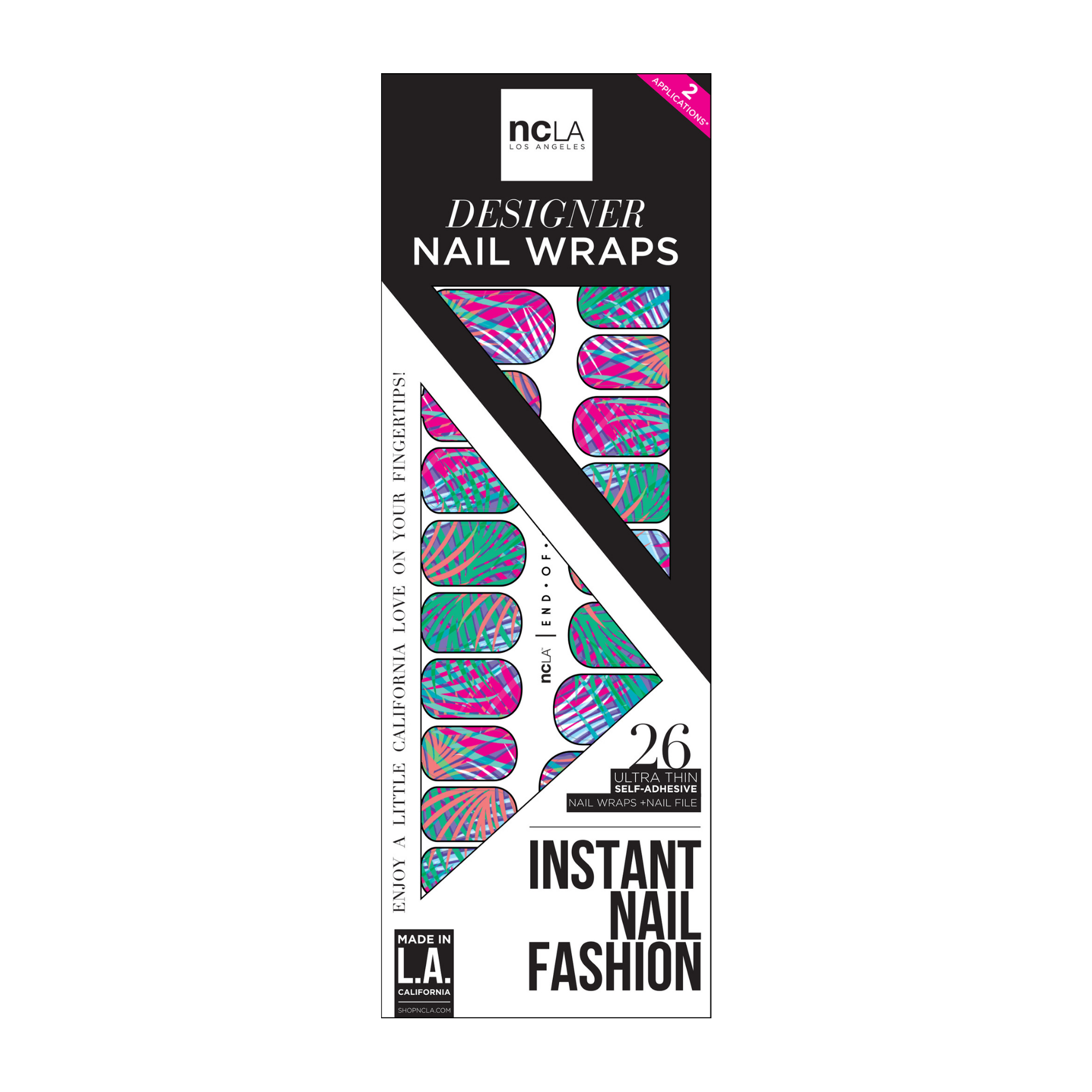 NCLA Nail Wraps End Of Summer