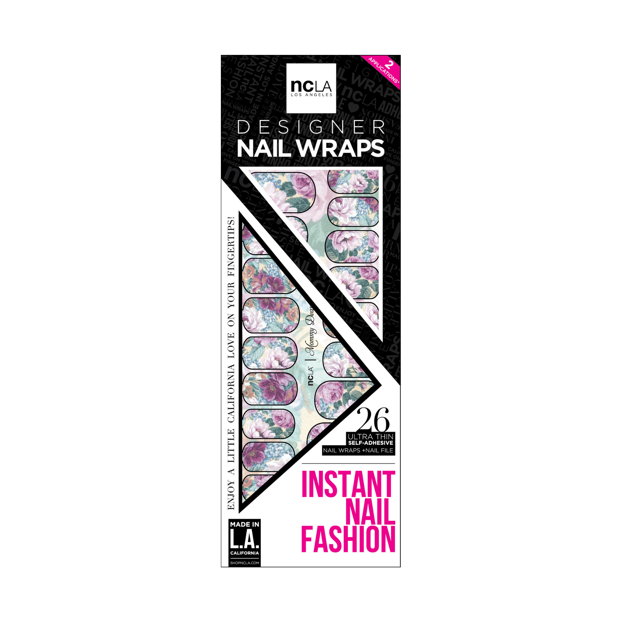 NCLA Nail Wraps Mommy Dearest