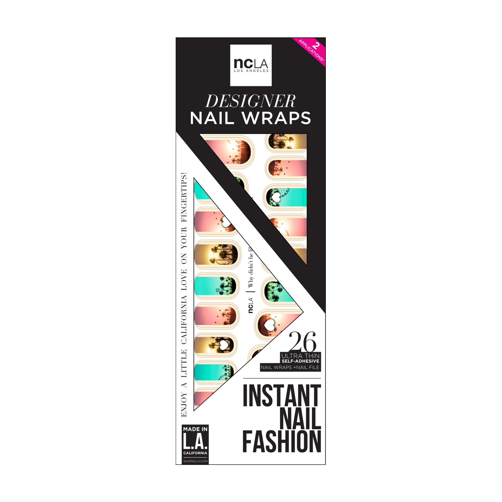 NCLA Nail Wraps Why Didn't He Like My Pic Yet?
