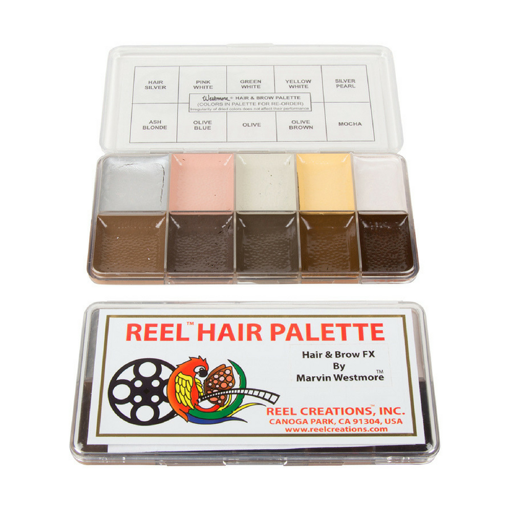 Reel Color Makeup Palettes Hair & Brow