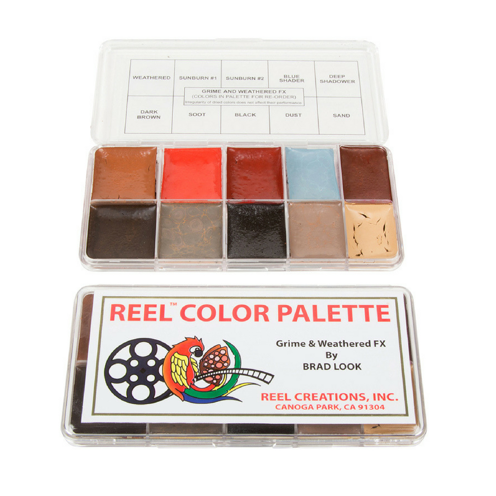 Reel Color Palette Brad Look Grime & Weathered FX