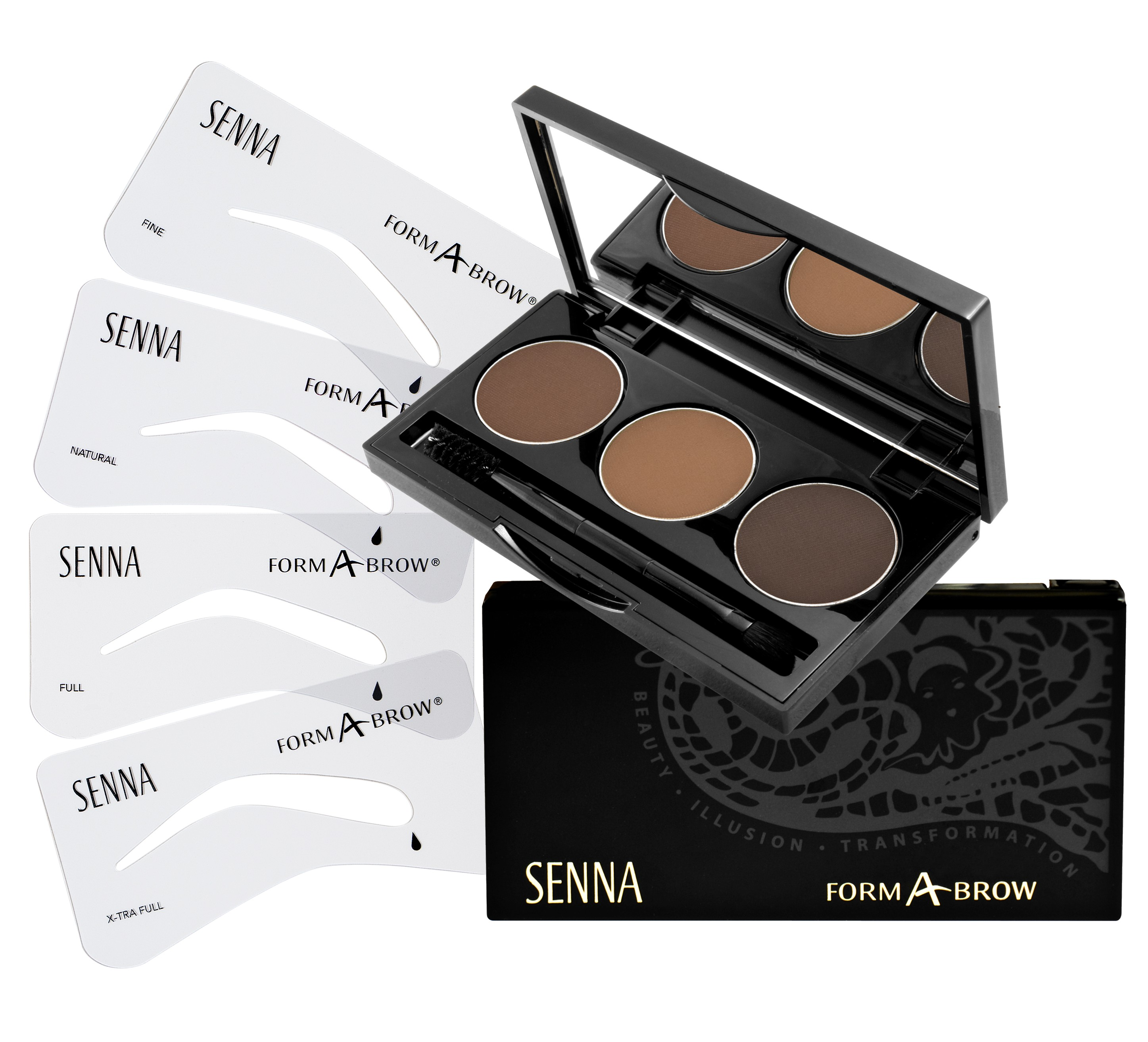 Senna Form A Brow Kit Neutral