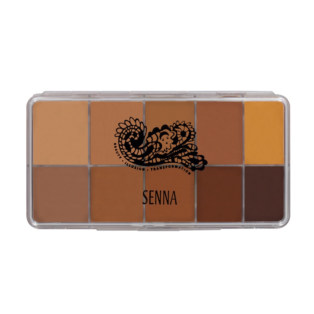 Senna Slipcover Palette Medium to Dark