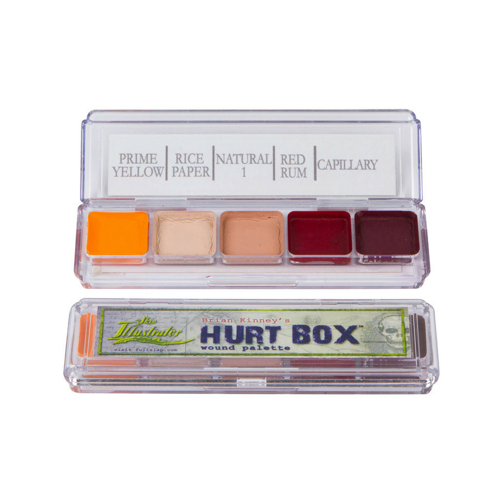 Skin Illustrator Palette Hurt Box Wound
