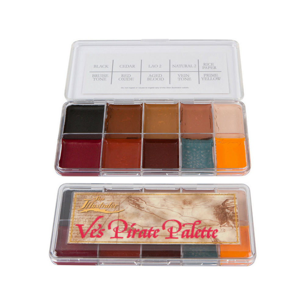 Skin Illustrator Palette Ve's Pirate