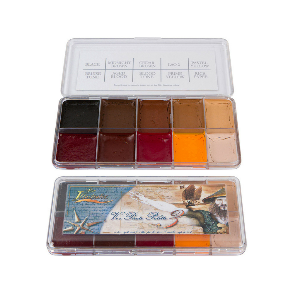 Skin Illustrator Palette Ve's Pirate 3