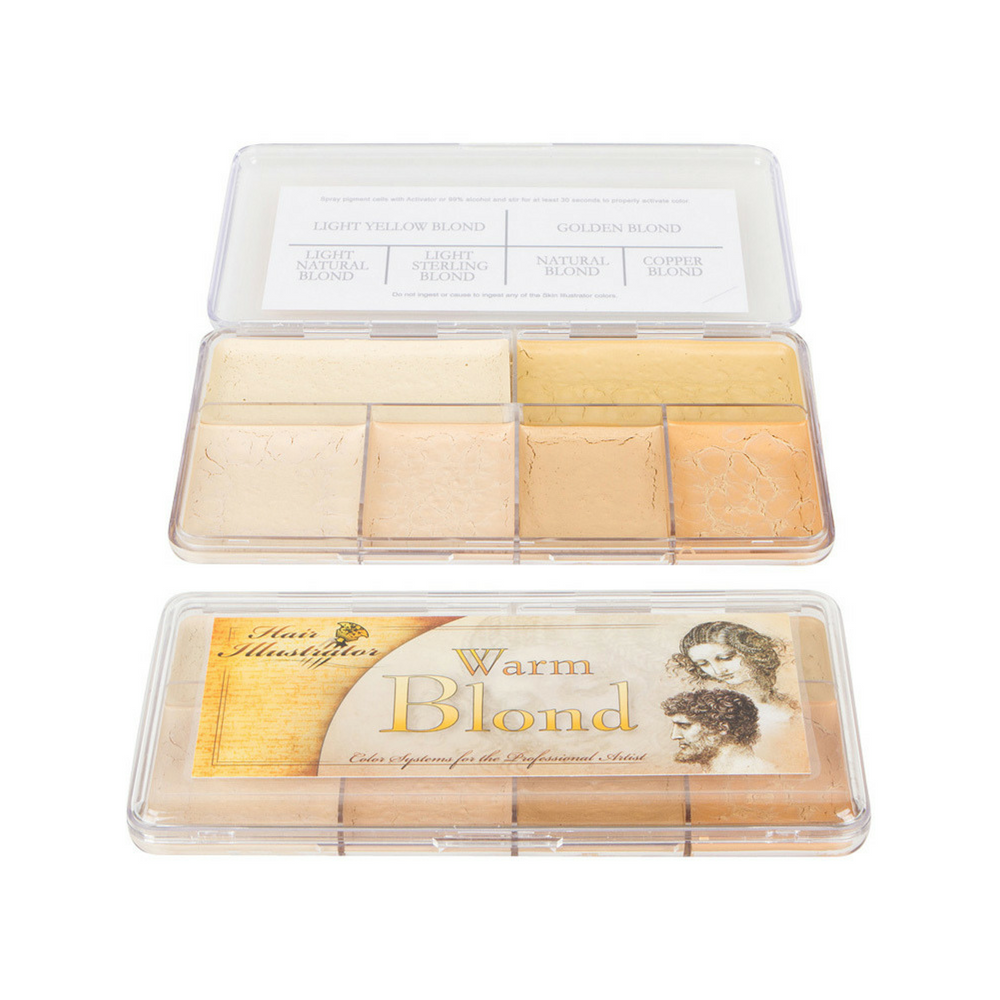 Skin Illustrator Palette Warm Blonde