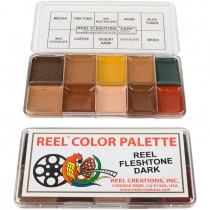Reel Color Makeup Palettes Dark Fleshtone