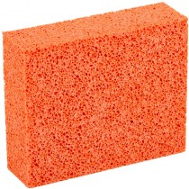 Orange Stipple Sponge