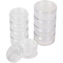 Empty Clear Stackable With Shaker