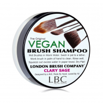 London Brush Shampoo Vegan Clary Sage 1oz