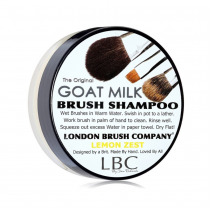 London Brush Shampoo Goat Milk Lemon Zest 1oz