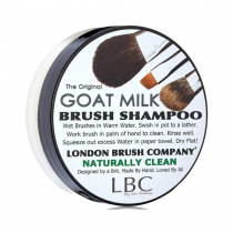 London Brush Shampoo Goat Milk Naturally Clean 2oz