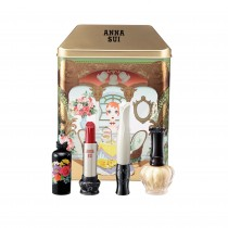 Anna Sui Dolly Head Makeup Coffret Set Marion Box with Products