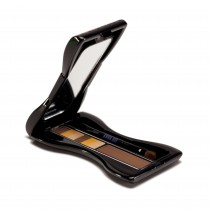 Anna Sui Eyebrow Color Compact 02 Yellow Brown Open