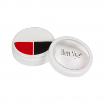Ben Nye Character Wheel WK-51 Red White & Black