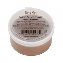 Ben Nye Nose & Scar Wax Brown