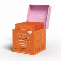 Busy Co Refresh Hydrating Hand Sanitizing Wipes 15 Wipes