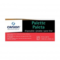 Canson Disposable Palette 9x4""