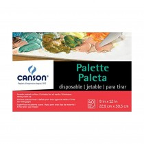 Canson 9x6 Disposable Palette